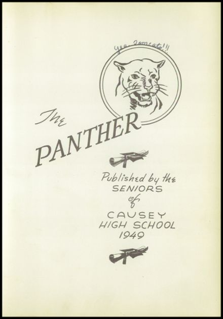 1949 Causey High School Yearbook Page 7