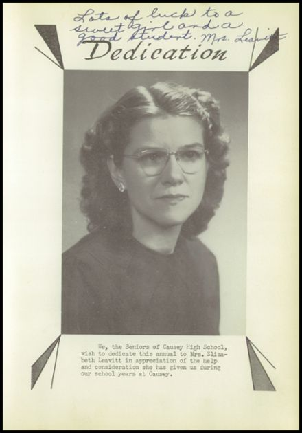 1949 Causey High School Yearbook Page 9