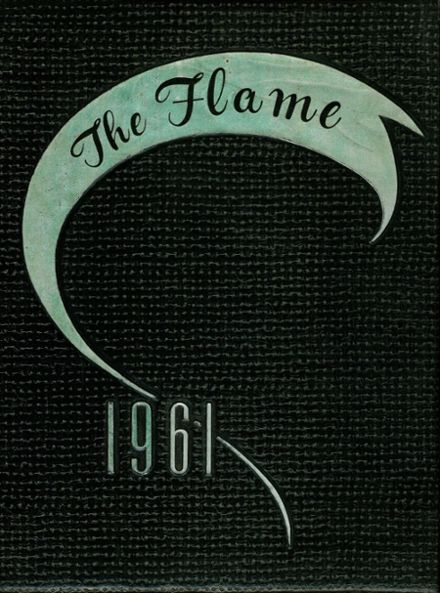 1961 Sacred Heart School Yearbook Cover
