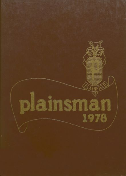 1978 Plainfield High School Yearbook Cover