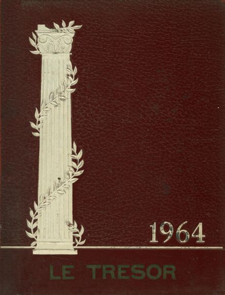 1964 Danville High School Yearbook Cover