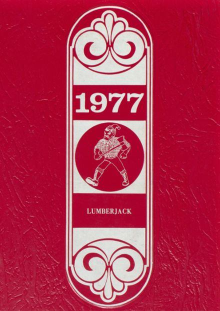 1977 Diboll High School Yearbook Cover