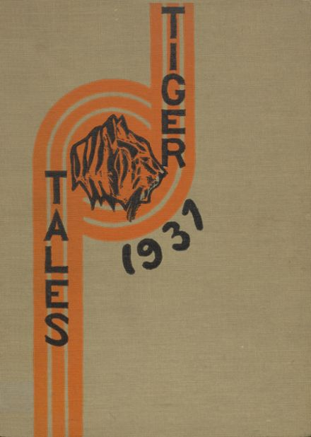1937 Enumclaw High School Yearbook Cover