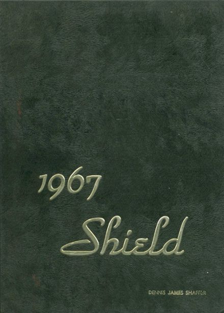 1967 Monroe-Woodbury High School Yearbook Cover