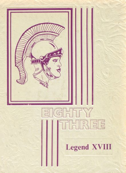 1983 Kennedy High School Yearbook Cover