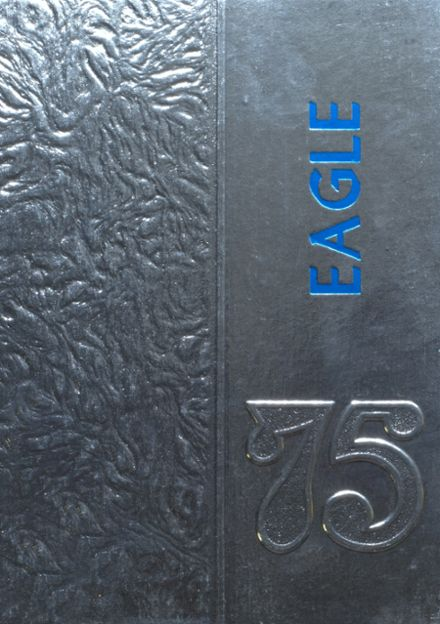 1975 Lindale High School Yearbook Cover