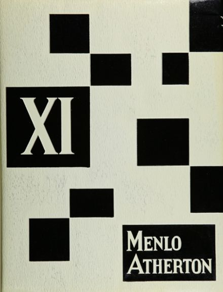 1962 Menlo-Atherton High School Yearbook Cover