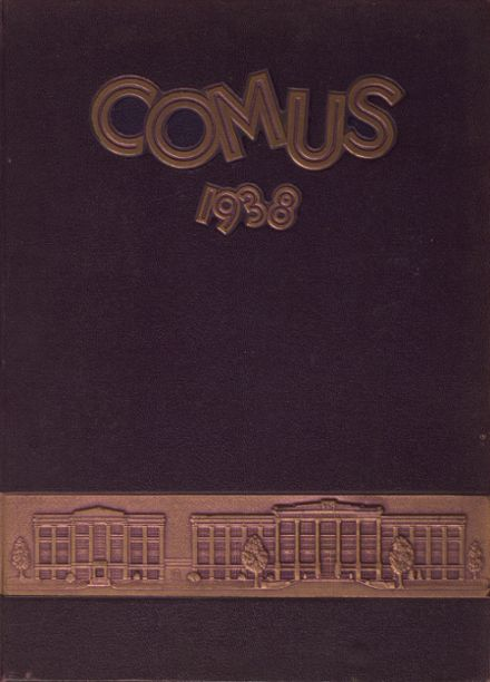 1938 William Allen High School Yearbook Cover