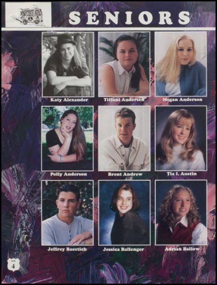 1996 Anacortes High School Yearbook Page 8