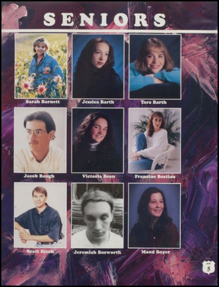 1996 Anacortes High School Yearbook Page 9