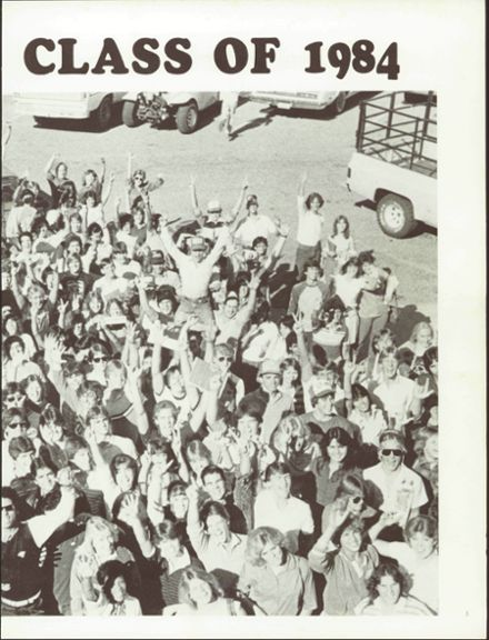 1984 Amphitheater High School Yearbook Page 7
