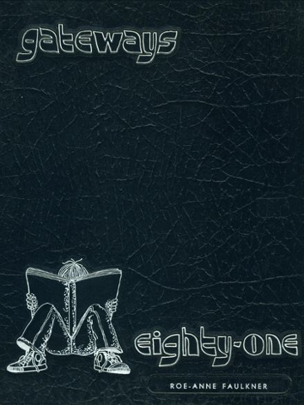1981 Gates Chili High School Yearbook Cover