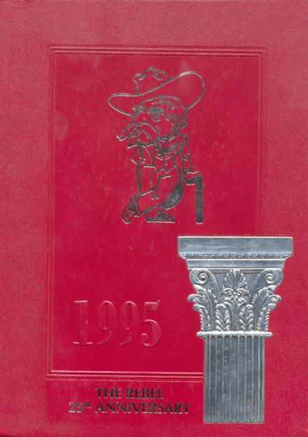 1995 Carroll Academy Yearbook Cover