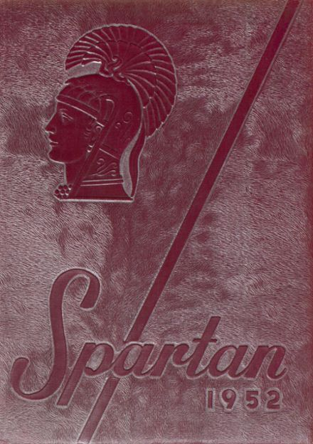 1952 Spearfish High School Yearbook Cover