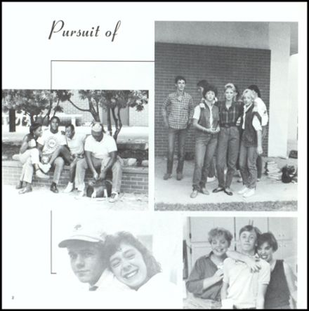 1986 St. John's High School Yearbook Page 6