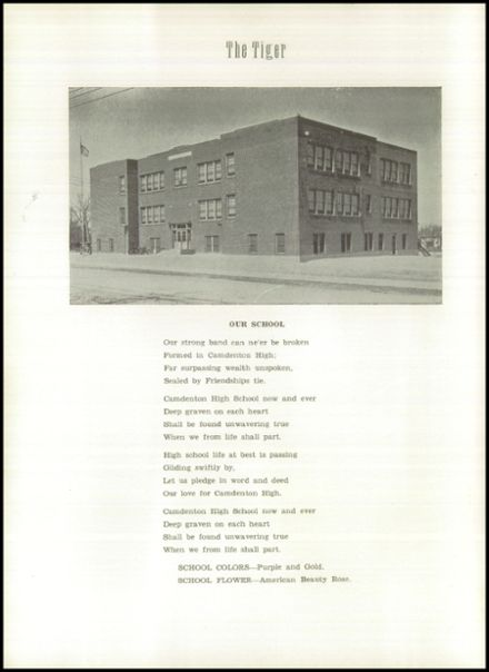 1940 Camdenton High School Yearbook Page 6