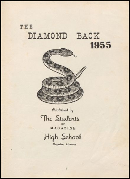 1955 Leftwich High School Yearbook Page 7