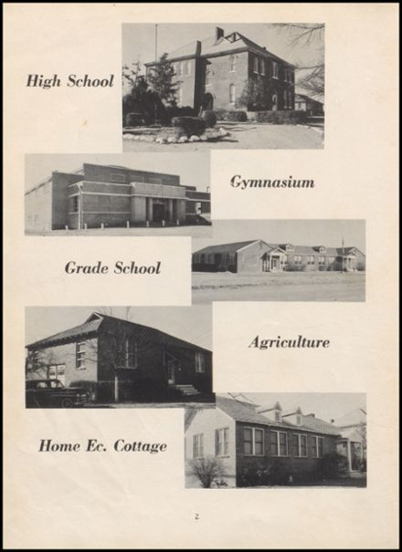 1955 Leftwich High School Yearbook Page 8