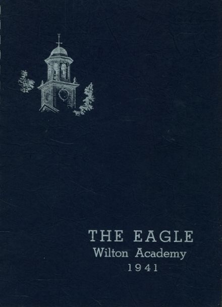 1941 Wilton Academy Yearbook Cover