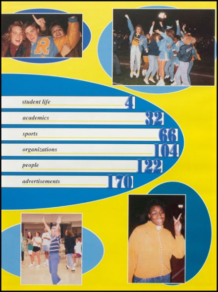 1992 Rogers High School Yearbook Page 7