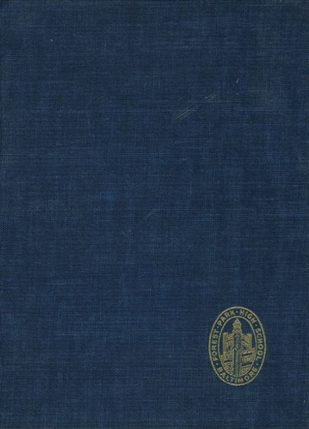 1950 Forest Park High School 406 Yearbook Cover