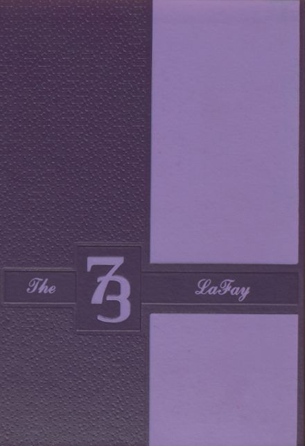 1973 Lafayette High School Yearbook Cover