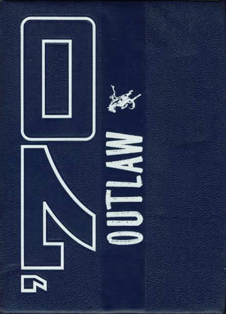 1970 Marlow High School Yearbook Cover