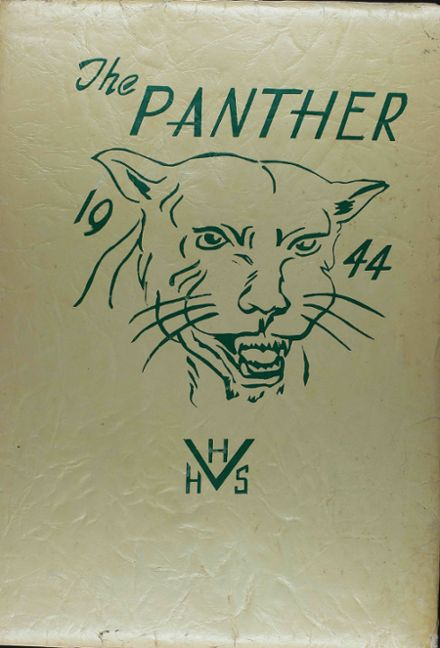 1944 Hillcrest High School Yearbook Cover