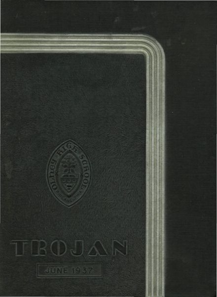 1937 Olney High School Yearbook Cover