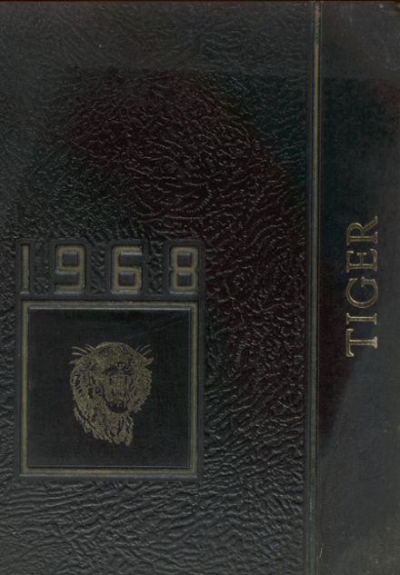 1968 Charlotte High School Yearbook Cover