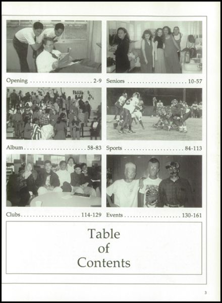 1995 Blue Valley West High School Yearbook Page 7