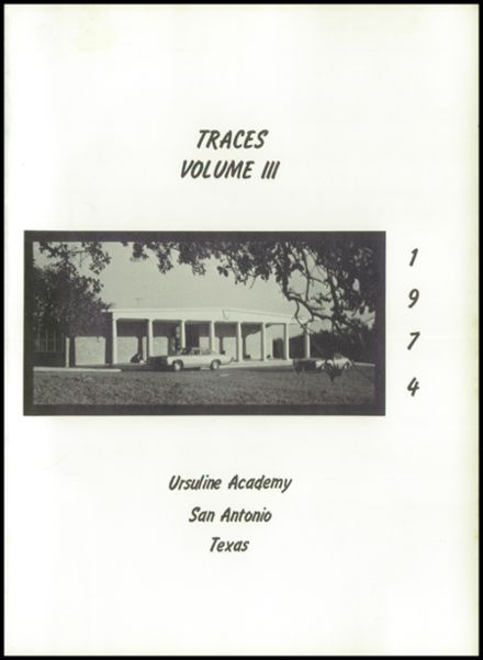 1974 Ursuline Academy Yearbook Page 5