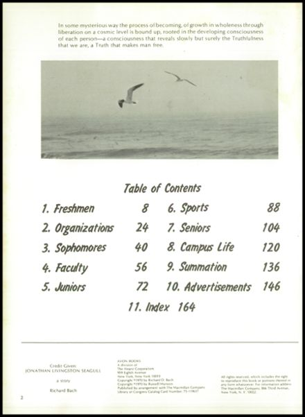 1974 Ursuline Academy Yearbook Page 6