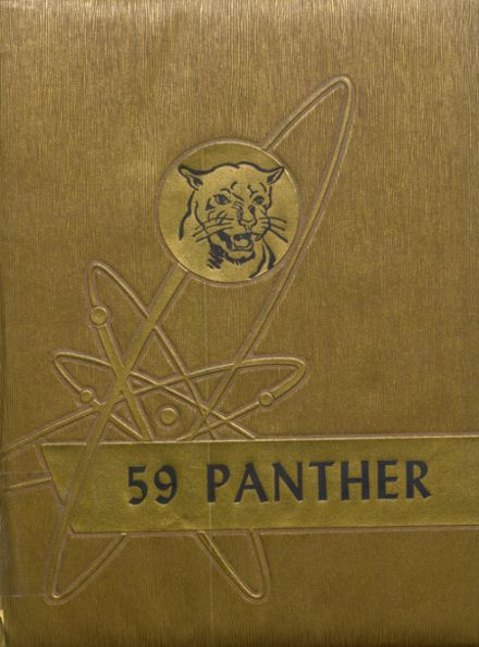 1959 Jal High School Yearbook Cover
