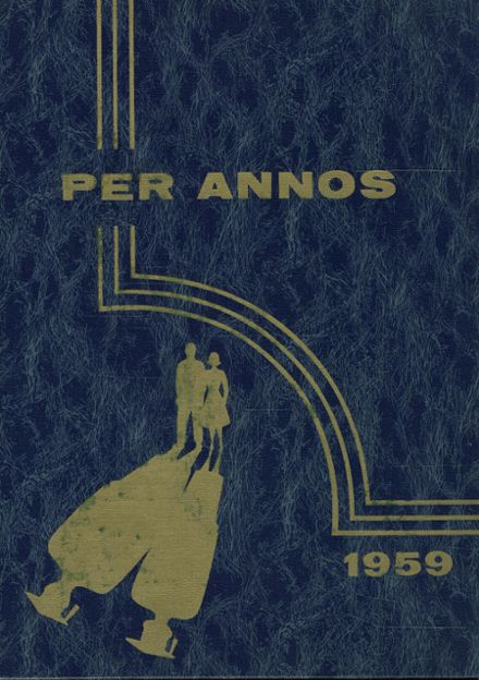 1959 Milford High School Yearbook Cover