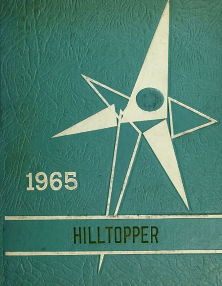 1965 Grover Hill High School Yearbook Cover