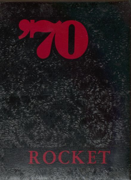 1970 Oldham-Ramona High School Yearbook Cover