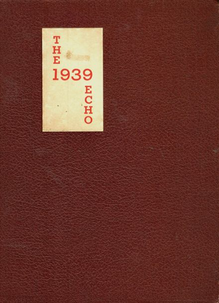1939 Richmond High School Yearbook Cover