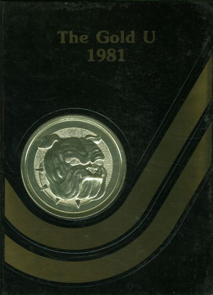 1981 Union High School Yearbook Cover
