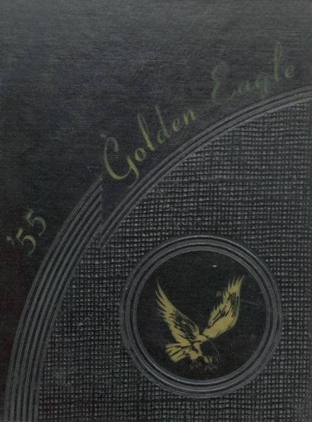 1955 Silver Lake High School Yearbook Cover