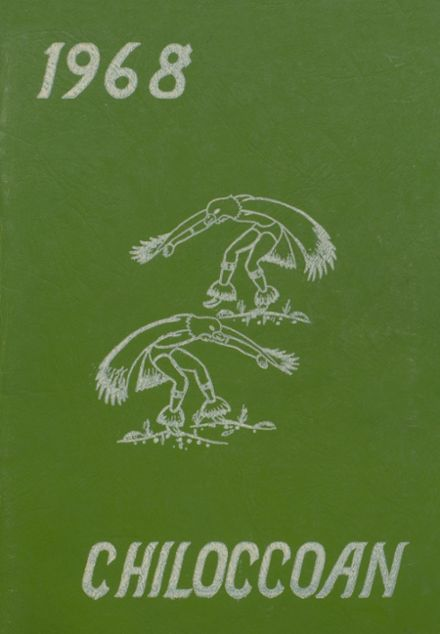 1968 Chilocco Indian School Yearbook Cover