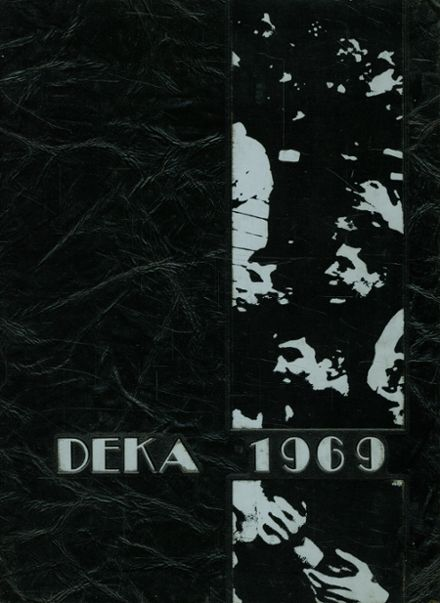 1969 Huntington High School Yearbook Cover