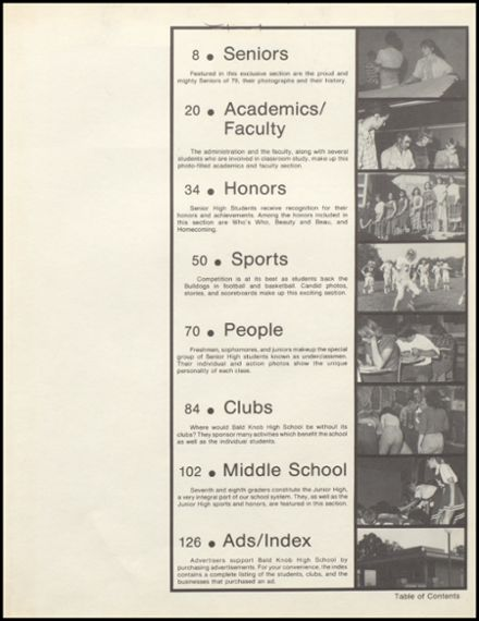 1979 Bald Knob High School Yearbook Page 3