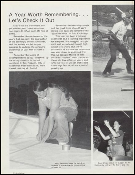 1979 Bald Knob High School Yearbook Page 6