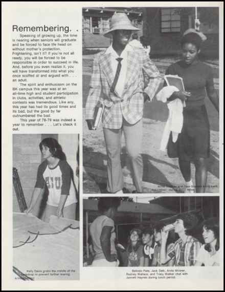 1979 Bald Knob High School Yearbook Page 8