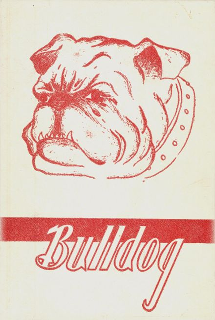 1948 Friend High School Yearbook Cover