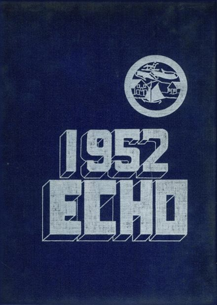 1952 Winthrop High School Yearbook Cover