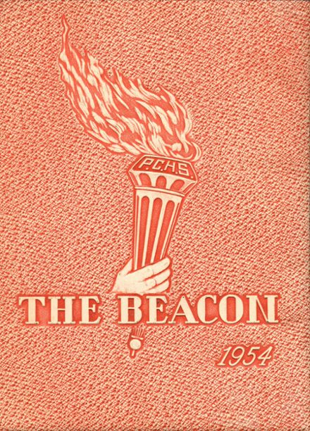 1954 Phoenix Christian High School Yearbook Cover