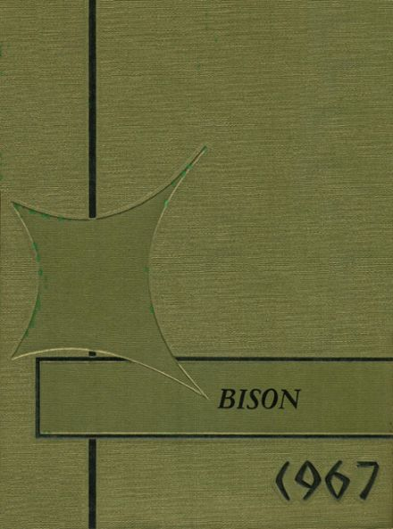 1967 Buffalo High School Yearbook Cover