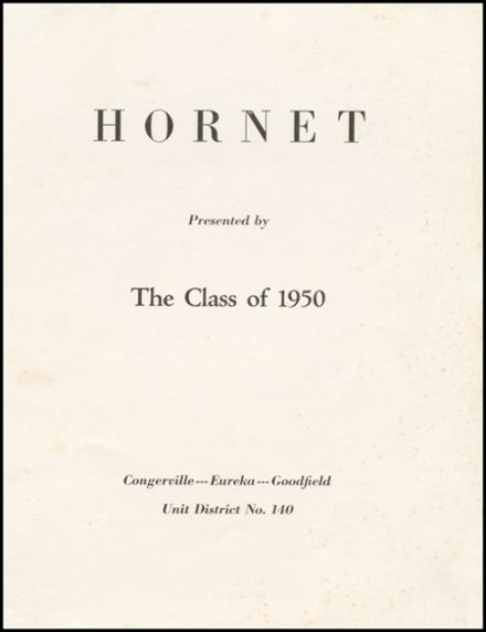 1950 Eureka High School Yearbook Page 5